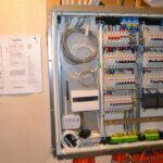 Электрощит в квартире электрика