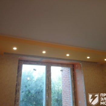 Монтаж и установка точечных светильников
