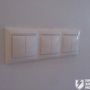 электромонтаж выключателей