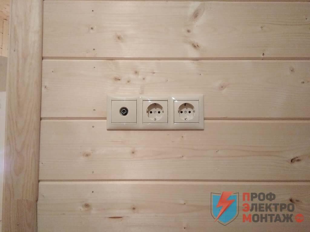 Электропроводка в бане, подключение электричества в бане загородного дома, цены на работы и описание электромонтажных работ, качественный электромонтаж.