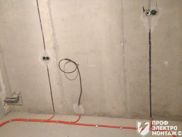 Электропроводка в квартире ЖК Зелёный город
