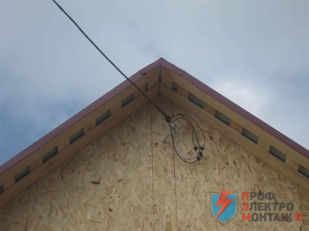 Подключение дома к электросети, работы по подключению электричества в дачном доме, сборка и установка электрощита, полный комплекс электромонтажа.